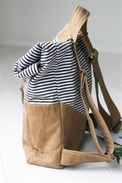 Backpack Retro retro rucksack pattern radiant home studio