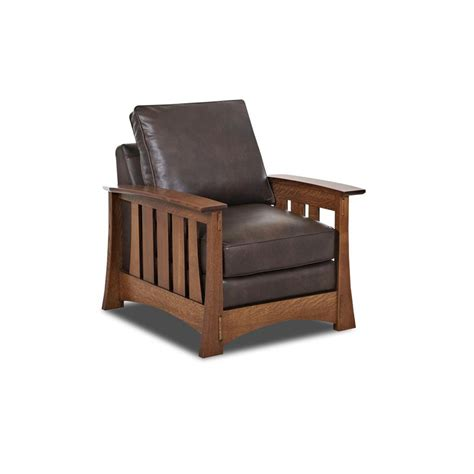 Bassett Mission Sofa Comfort Design Cl7016 C Highlands Leather Chair Discount