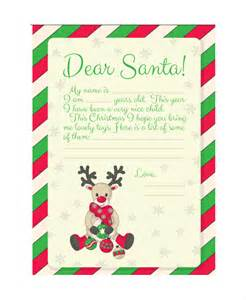 Letter From Santa Word Template Free by Santa Letter Template 9 Free Word Pdf Psd Documents