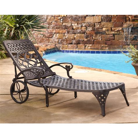 chaise lounge chair walmart home styles biscayne outdoor chaise lounge chair walmart com