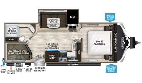 imagine travel trailer floorplans grand design grand