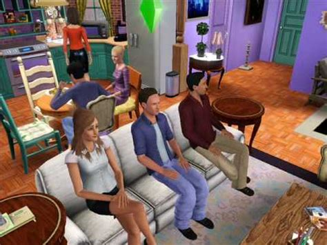 f r i e n d s on the sims 3