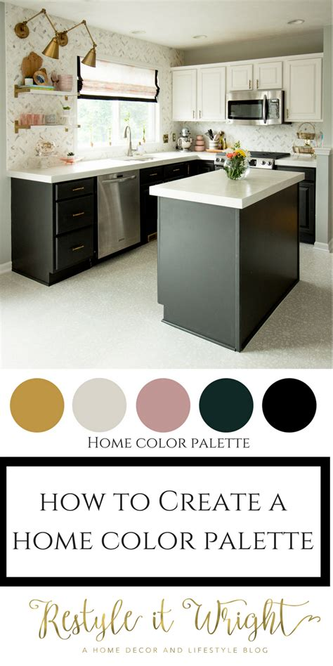 creating a home creating a home color palette restyle it wright