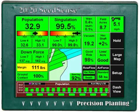20 20 Planter Monitor by 20 20 Seedsense Display Linco Precision Llc