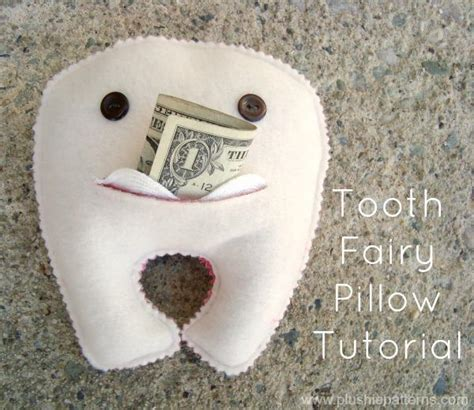 Tooth Pillow Pattern by Tooth Pillow By Plushie Pattern Sewing Pattern
