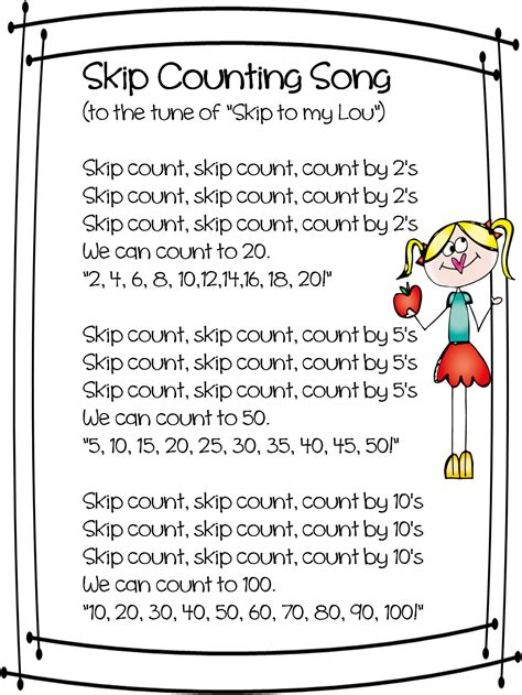 poems with a pattern year 2 first grade wow skip skip skip