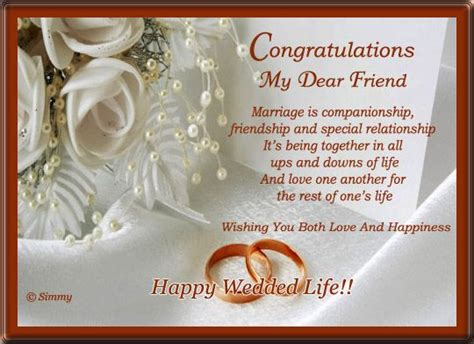 Wedding Quotes For Best Friend by Pictures Wedding Wishes For Friend Daily Quotes About