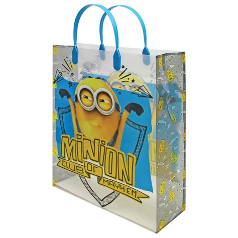 minion gift wrap b m despicable me minions gift bag minion club of
