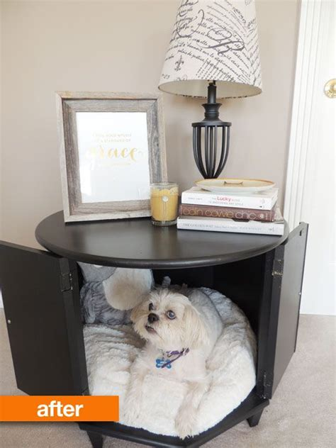 dog side bed before after merrill s side table pet bed pet beds