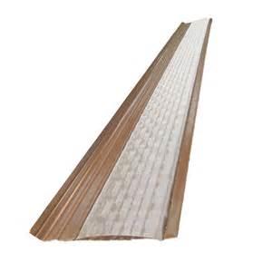 vinyl gutters home depot amerimax home products 6 ft brown vinyl leaf guard plus
