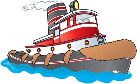 tugboat cartoon cartoon tugboat clipart panda free clipart images