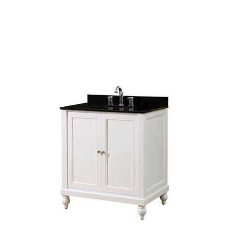 white bathroom vanity with black top direct vanity sink classic 32 in vanity in pearl white