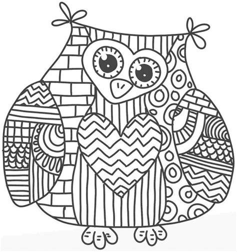 cute mandala coloring pages owl mandala coloring page characters animals coloring
