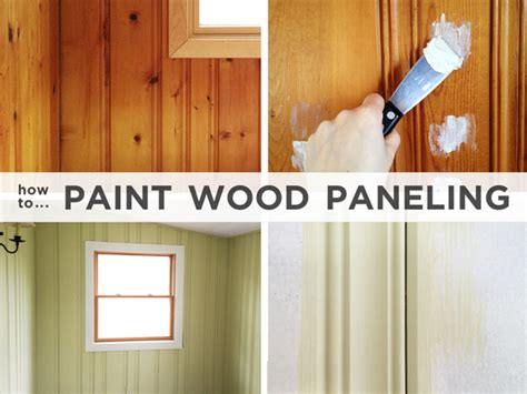 How To Paint Wood Panel | painting wood paneling brushes rollers and beer rather