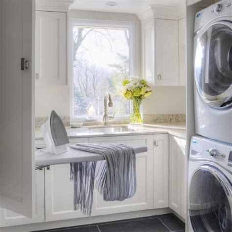 Laundry Room Decorating 20 Small Laundry Room Storage Solutions
