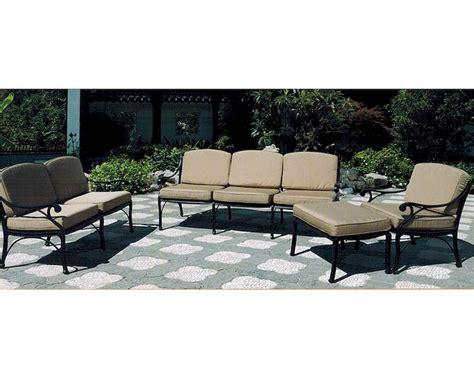 patio sofa sets patio sofa set miramar by designs su 4706 set