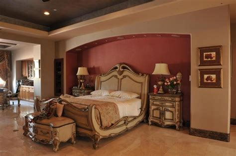 red accent wall in master bedroom 25 brown master bedroom designs