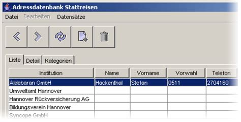swing toolbar java swing toolbar adress datenbank mit java und mysql