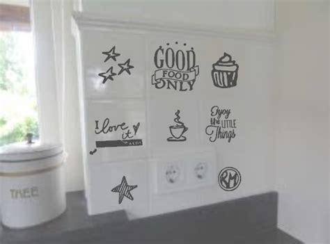 sticker keuken keuken stickers www kija handmade nl