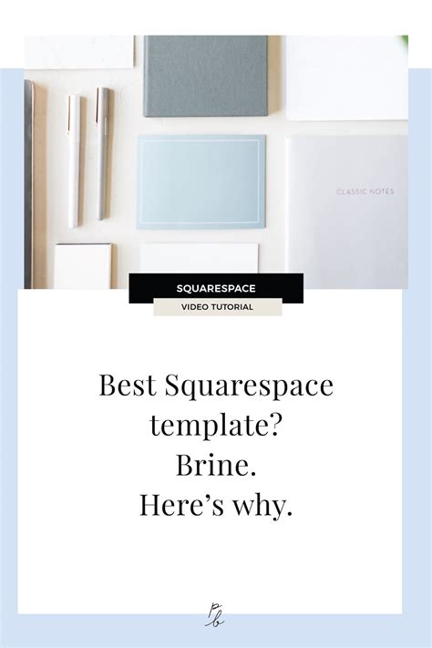 best template squarespace what is the best squarespace template brine here s why