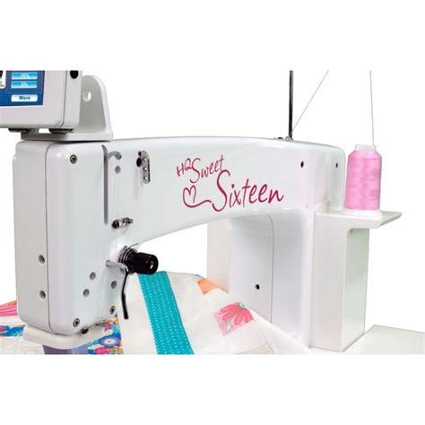 Sewing Machine For Quilting Reviews by Buy Handi Quilter Sweet Sixteen At Janome Flyer