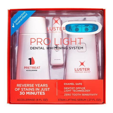 Luster Pro Light Teeth Whitening System by Pro Light Dental Whitening System Luster Pro Light