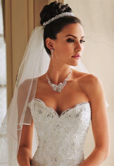 Hochzeitsfrisur Prinzessin by Fryzury ślubne Pod Welon