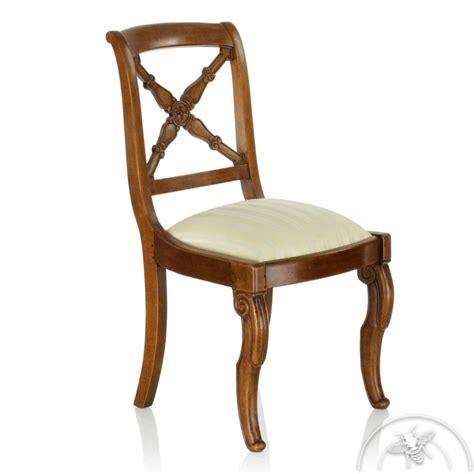chaise bois et tissu chaise bois et tissu croisillon saulaie