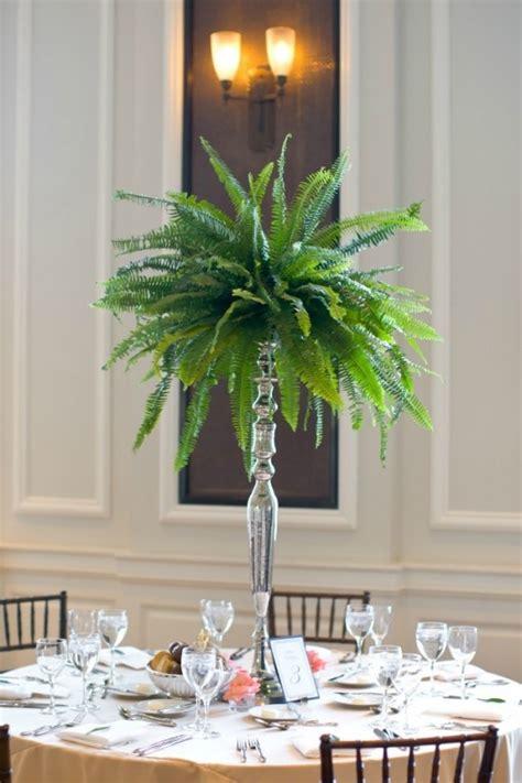 fern decor decorating weddings with lush green fern decozilla