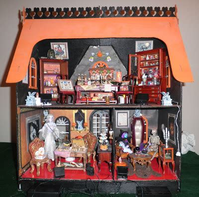 haunted dollhouse collection of dreams miniature haunted dollhouse tour