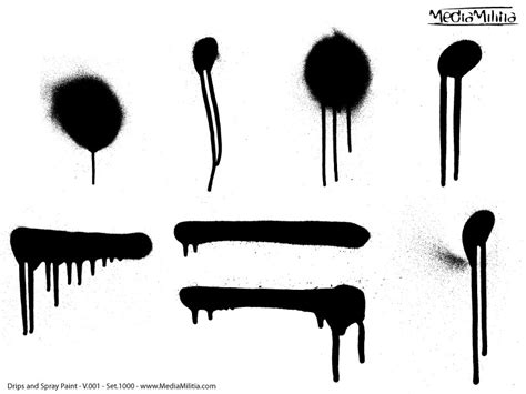 spray paint drips drips and spray paint pack 30 free vectors media militia