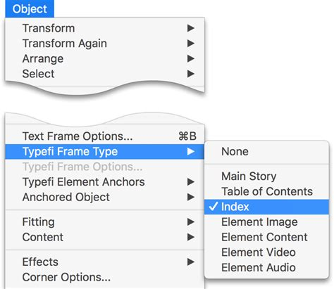 indesign creating an index create an index in adobe indesign typefi support