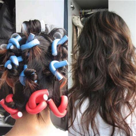pictures of curlers for hair style 10pcs women diy curler makers soft foam bendy twist curls