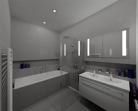 Modern Grey Bathroom Modern Grey Bathroom Bathroom By Tom Aquastyl Cz On Visoft360 Portal