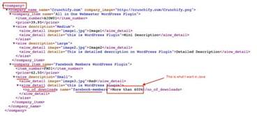 java xml xpath parser how to parse xml document using