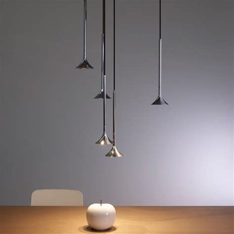 GROK by LEDS C4 Alive LED 5 headed pendant   00 5291 21 21
