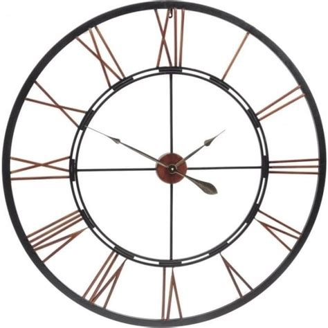 vintage skeleton wall clock oversized clocks buy this oversized antique black and copper skeleton wall