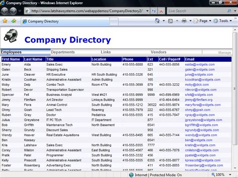 business directory template free company directory free and review
