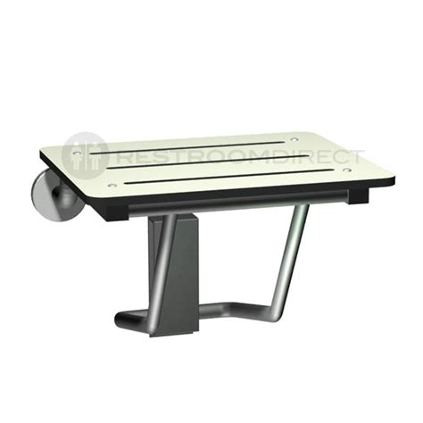 stainless steel folding shower seat asi 8203 compact folding shower seat