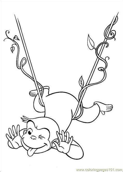 curious george coloring page pdf coloring pages curious george 28 cartoons gt curious