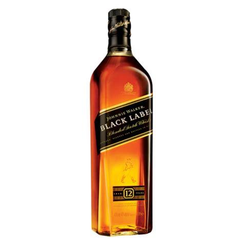 Black Label Whisky johnnie walker black label 1l