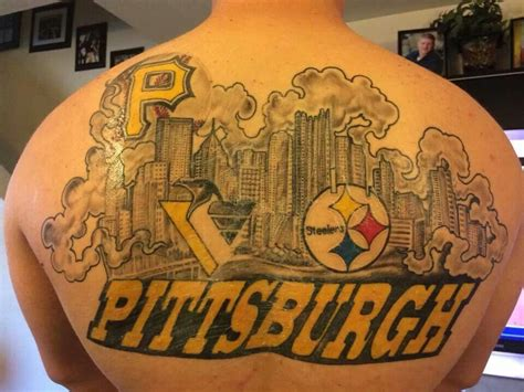 pittsburgh penguins tattoo pittsburgh my hometown or to pronounce it