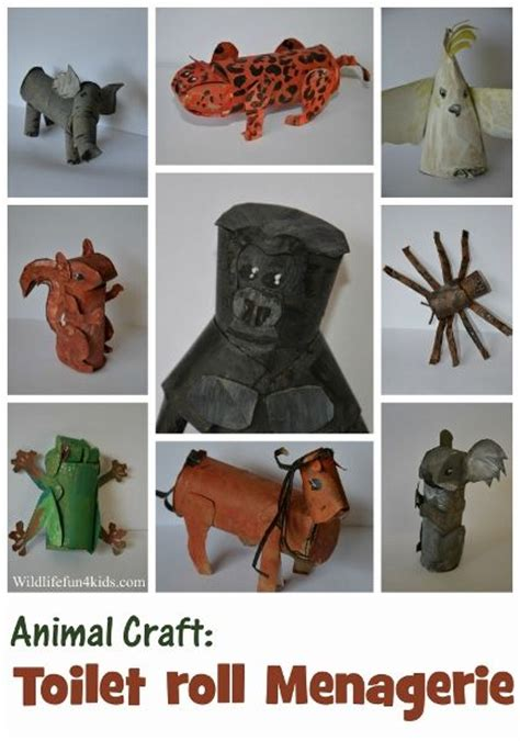Toilet Paper Roll Crafts Animals - pin by l r smith on paper towel toilet paper rolls