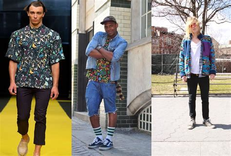90s Men Fashion Clothing