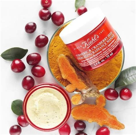 Turmeric Cranberry Seed Energizing Radiance Masque turmeric cranberry seed energizing radiance masque cleansers scrubs masques kiehl s