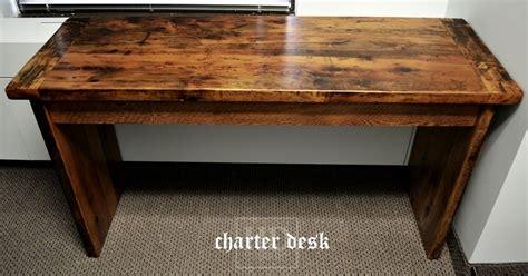 Barnwood Desk by Reclaimed Wood Desks Ontario Hd Threshing Floor Furniture