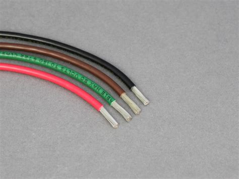 12v wire thinnest single tinned thin wall cable 39a 4 0mm 178 12 volt planet