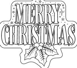 merry christmas coloring pages happy holidays
