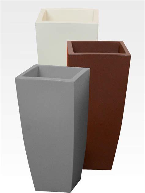 vasi di giardini re vaso per piante in resina colorata per