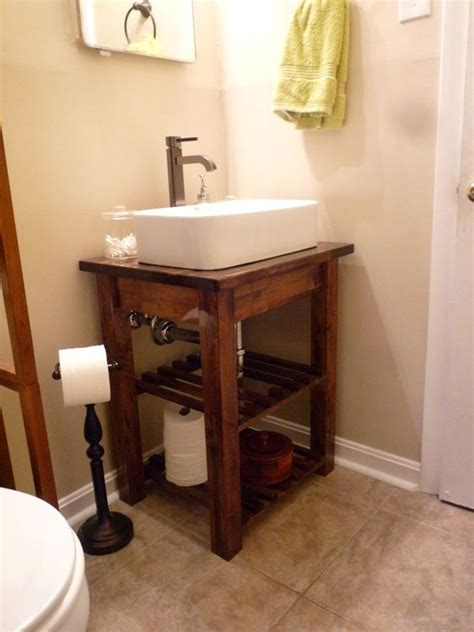 diy step by step bathroom vanity thinking would look